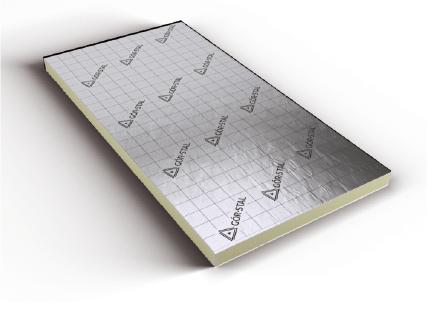 Plaques isolantes panneaux mousse pir pour isolation for Plaques solars termiques